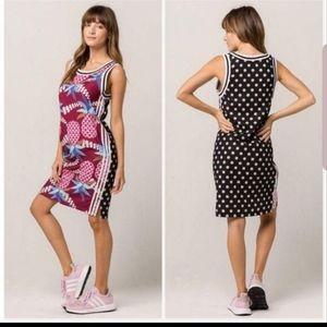 Adidas Brazilian Pattern Tank Dress